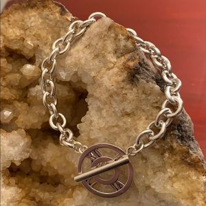Retired Tiffany Atlas Toggle Bracelet